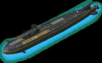 NS-38 Nuclear Submarine L1