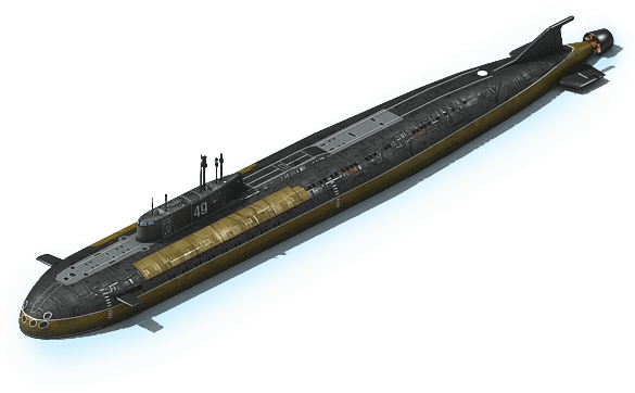 NS-38 Nuclear Submarine L1