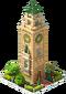 Old Bergamo Clock Tower