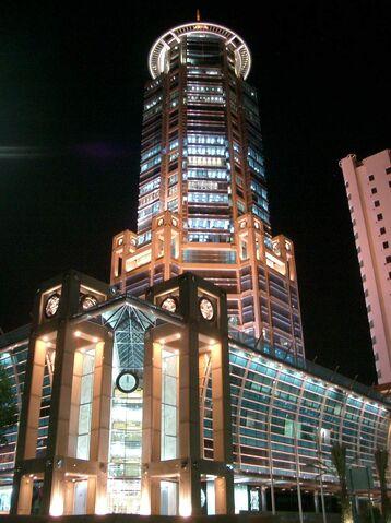 File:RealWorld Dar Al Awadi Tower (Night).jpg