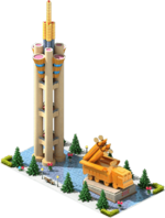 Gold CMS-63 Monument