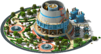 Plasma-Arc Power Plant