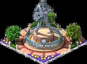King of Rock'n'Roll Statue