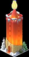 Christmas Candle Tower