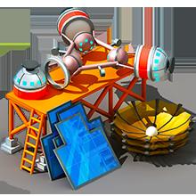 CS-60 Communications Satellite Construction