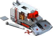 TBM-31 Drilling Machine Locked