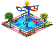 Avant-garde Fountain