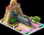 Gold Duplex Locomotive Arch