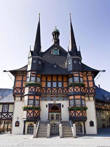 File:RealWorld Wernigerode Town Hall.jpg