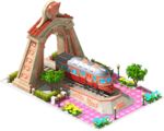 Bronze Ferreira Locomotive Arch