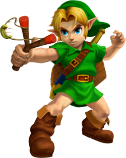 Young Link CG Art