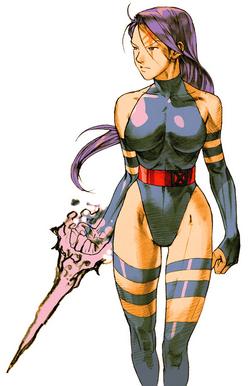 Psylocke CG Art