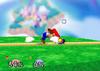 Mario Floor attack (front) SSB