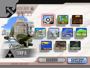 Stage Select Brawl Melee