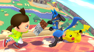 SSB4-Wii U Congratulations Lucario All-Star