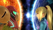 SSB4-Wii U Congratulations Zero Suit Samus Classic