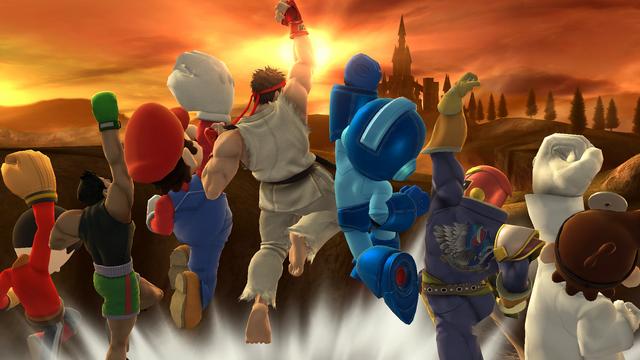 File:SSB4-Wii U Congratulations Ryu Classic.png