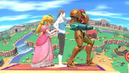 Super-Smash-Bros-Peach-Trainer-Samus