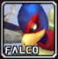 File:SSBMIconFalco.png