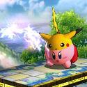 Pikachu Kirby (SSB3DS)