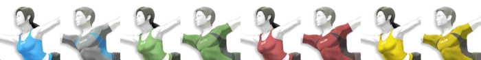 Wii Fit Trainer Palette (SSB4)