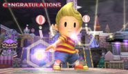 Lucas Congratulations Screen All-Star Brawl