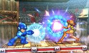 Mega Man and Samus - Arena Ferox