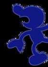 Mr. Game & Watch Palette 03 (SSBM)