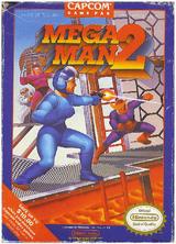 Mega Man 2 North American Boxart
