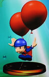 Balloon Fighter trophy (SSBM)