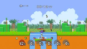 SSBM Super Mario 128 Event Match