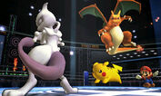 Mewtwo wants to fight