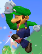 Luigi-SuperJumpPunch-Melee