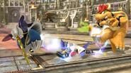 Falco Down Smash