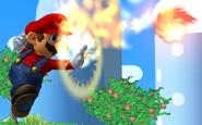 Melee Fireball Mario Attack