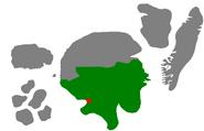 Provinciekaart Mountégue
