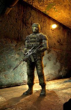 SHOC Military stalker