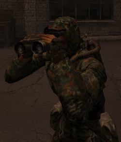 Player Binoculars