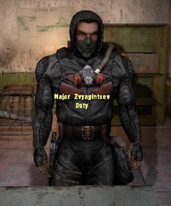Major Zvyagintsev
