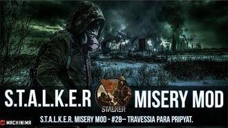 S.T.A.L.K.E.R. Misery Mod 2.1.1 27 - Travessia para Pripyat.