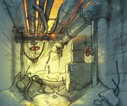 SCS Pripyat Underground Concept Art 3