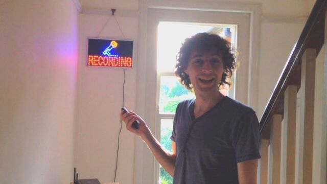 File:Stampy Recording Sign.jpg