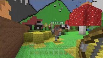 Minecraft Xbox - Hunger Games In The Magic Garden - Round 1