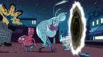 S1e1 hurt monsters go through the portal