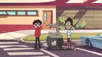 S1E4 Marco, Ferguson, and Alfonzo outside the school