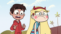 S1E13 Marco asks Lobster Claws if he's okay