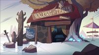 Interdimensional Field Trip background - Walking with Trolls