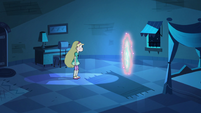 S2E41 Star looking at the dimensional portal