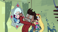 S1E3 Marco dashes across the screen