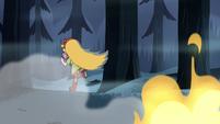 S2E2 Star Butterfly suddenly runs away